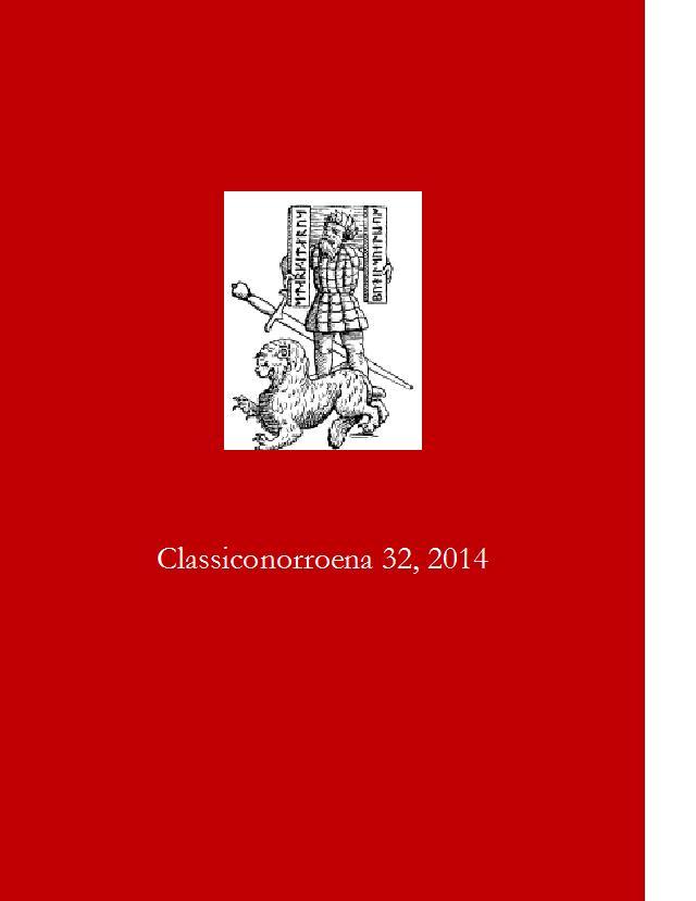 Classiconorroena Fascicolo num. 32 (2014)