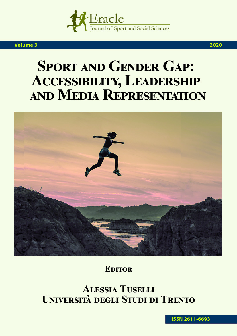 Sport and gender gap: accessibility, leadership and media representation