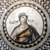 Salvation (Sotiria) mosaic. Antakya, Turkey