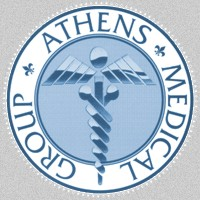 Athens Medical Group logo. Athens, Greece