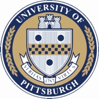 University of Pittsburgh logo. Pittsburgh, Pennsylvania, USA