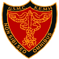 Logo of Seth GS Medical College and KEM Hospital. Mumbai, India