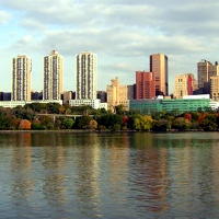 NY-Presbyterian Hosp from water jeh