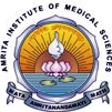 "Logo of ""Amrita Institute of Medical Sciences"". Cochin, Kerala, India"