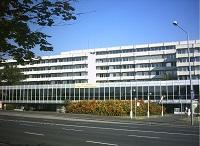 Petz Aladár Teaching Hospital. Gyor, Hungary