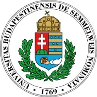 Semmelweis University logo. Budapest, Hungary