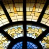 Stained glass windows by Tommaso Juglaris at Goddard  Chapel at Tufts University. Medford, MA, USA (Emily Zilm for Tufts University)